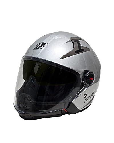 Römer Casco da Moto Stuttgart Rr 210I Hybrid [Argento]