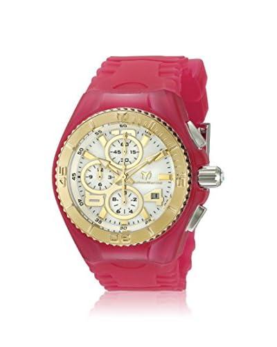 TechnoMarine Women's TM-115264 Cruise Jellyfish Pink/White Solid Stainless Steel Watch