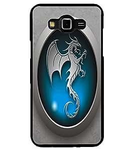 ColourCraft Dragon Art Design Back Case Cover for SAMSUNG GALAXY GRAND MAX G720