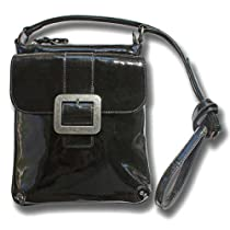 Boconi Addison xBody Bag (Black Patent)