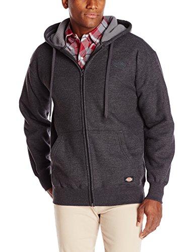 Dickies Men's Thermal Sherpa Lined Hooded Full Zip, Black, X-Large (Dickies Thermal Hoodie compare prices)