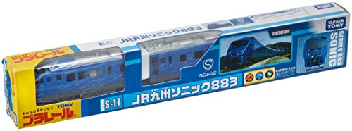 S-17 883 Kyushu Railway Company (Tomica PlaRail Model Train) [Toy] (japan import)