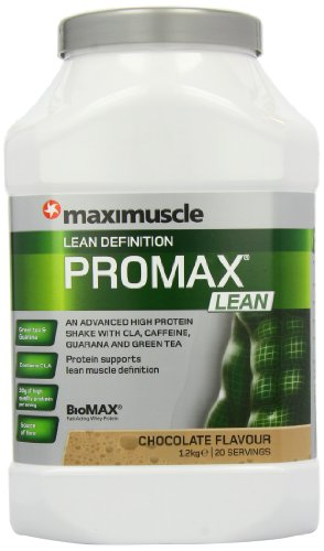 Maximuscle Promax Lean Weight Loss and Definition Shake Powder Chocolate--1200g (packaging may vary)