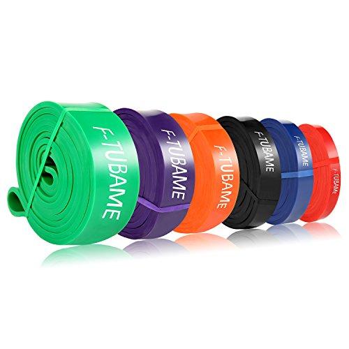 F-TUBAME フィットネスチューブ スーパーハード トレーニングチューブ エクササイズバンド レギュラータイプ  筋力トレーニング 多色選択可能 グリーン