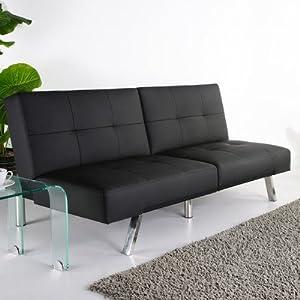Amazon Gold Sparrow Jacksonville Black Foldable Futon Sofa Bed Sleeper Sofas