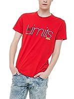 BIG STAR Camiseta Manga Corta Padcar_Ts_Ss (Rojo)