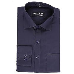 Magson Elite Men's Formal Shirt 1968096031_Blue_40