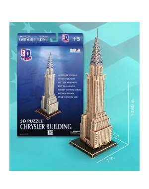 Cheap Cubic Fun Chrysler Building 3-D Puzzle Daron (B002L2U0Y6)