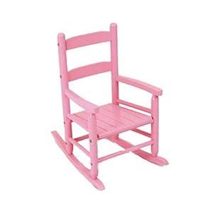 KidKraft 2 Slat Rocking Chair Pink Childrens Rocking Chairs