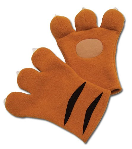 Code Geass Cosplay Nina's Tiger Plush Gloves GE-7078