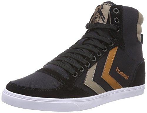 Hummel HUMMEL SL STADIL CANVAS HI, Sneaker alta Unisex - adulto, Nero (Nero (Black 2001)), 42