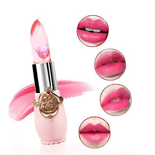 CINEEN Rossetto, Lasting Impermeabile colore del fiore traslucido che cambia duraturo umidità lip gloss rossetto