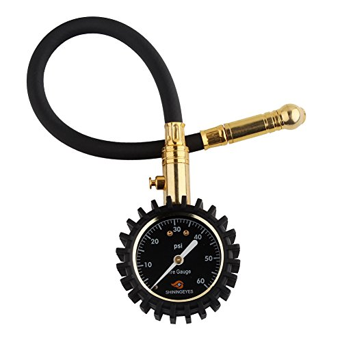 Shiningeyes-Manometro-Pressione-Gomme-Aria-Manometri-Pneumatici-Alta-Precisione-per-Auto-Moto-Bicicletta-con-4-Tappi-della-Valvola