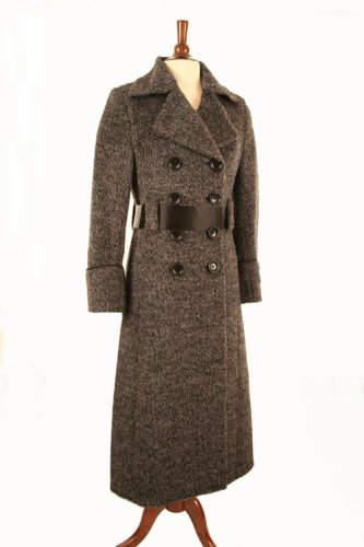 Buy Kuna Long Belted Alpaca Coat