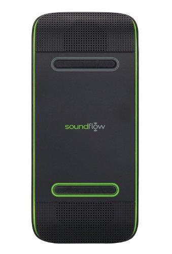 Soundflow Soundboard Wireless Portable Speaker Presto, No Pairing, No Wires, No Setup! (Sp20Bkgr In Black And Lime Green)