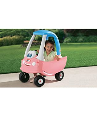 Little tikes cozy coupe 30th anniversary edition pink from mothercare the toy detectives - Little tikes cozy coupe pink ...