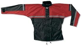 Nelson-Rigg SR-6000 Stormrider Rainsuit , Distinct Name: Red, Size: Lg, Gender: Mens/Unisex SR-6000-RED-03L