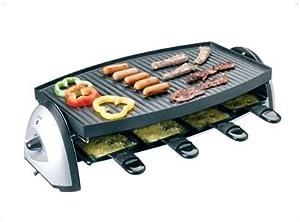 tchibo tcm raclette grill mit stufenloser. Black Bedroom Furniture Sets. Home Design Ideas