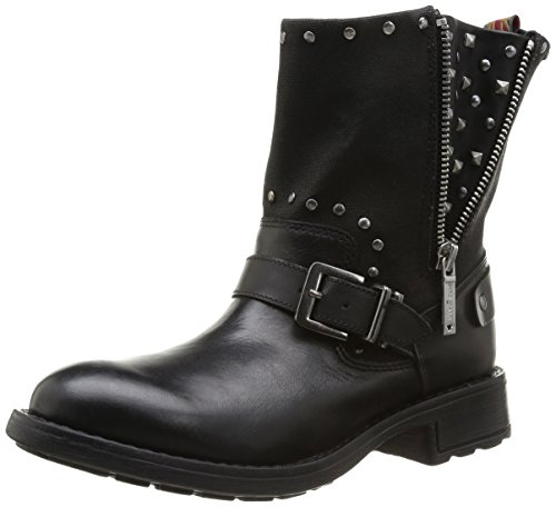 Pepe Jeans - Stivali PLS50092 Donna, Nero (Schwarz (Black 999)), 40