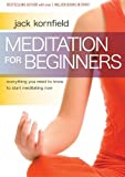 Meditation for Beginners by Jack Kornfield DVD, 2010