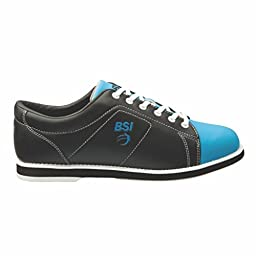 BSI Womens Classic Bowling Shoes (9 1/2 M US, Black/Blue)