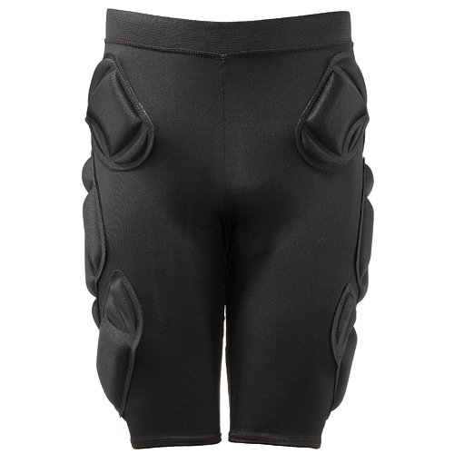 Crash Pads 2500 Padded Shorts with Tail Shield for Snowboard / Ski / Skateboard - Large (34-37 inches)