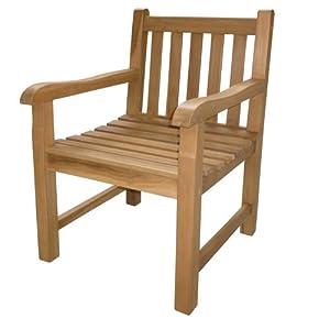 teak holz gartenstuhl calais teaksessel teakstuhl 9511. Black Bedroom Furniture Sets. Home Design Ideas