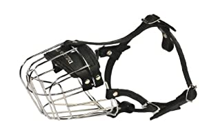 Dean and Tyler Wire Basket Muzzle, Size No. R1 - Small Rottweiler