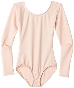 Capezio Girls 2-6X Long Sleeve Leotard,Ballet Pink,T (2-4)