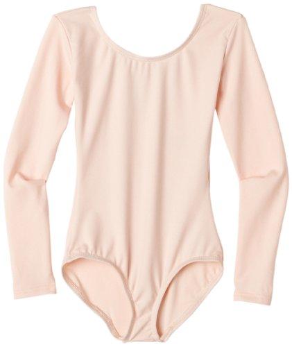 Capezio Girls 2-6x Children'S Long Sleeve Leotard,Ballet Pink,S (4-6)
