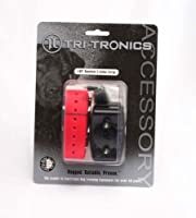 Tri-Tronics Expandable Receiver with Red Collar Strap from Tri-Tronics