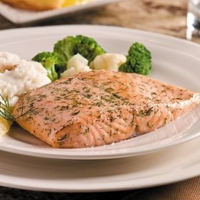 Omaha Steaks 8 (6 oz.) Lemon Dill Salmon Fillets