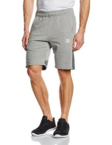 Jack & Jones-Pantaloni corti da uomo ccalm Sweat Pantaloncini, Uomo, Sweatshorts Ccalm Sweat Shorts, luce grigio melange, L