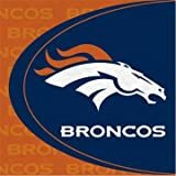 Denver Broncos Lunch Napkins 16ct at Amazon.com