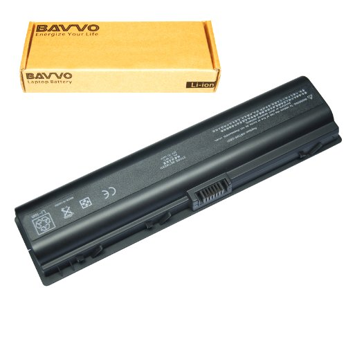 Bavvo 12-cubicle Laptop Battery for HP EV088AA Lithium Ion HP Pavilion DV6000 DV2000