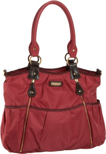 Storksak Women's Olivia SK2502 Diaper Bag,Berry,One Size - 1