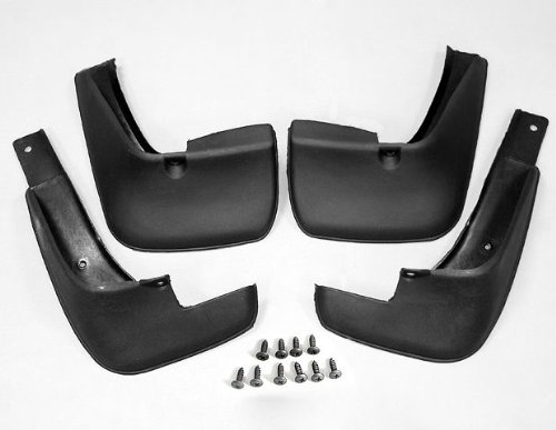 NEW SOLID ABS PLASTIC MUD GUARDS SPLASH FLAP FLAG FOR TOYOTA 2002-2005 COROLLA (Mud Flaps Corolla compare prices)