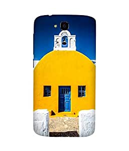 Yellow White And Blue Huawei Honor Holly Case