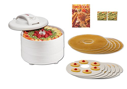 Nesco FD-60HW Snackmaster Express Bundle -Includes Accessories and How To Book