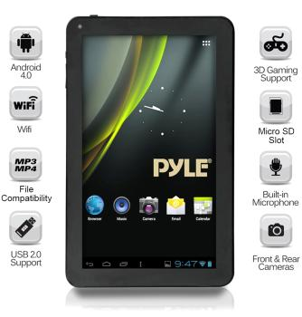 Versatile Multimedia Capability - The Pyle Astro PTBL7C