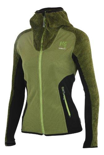 Sportful Karpos Rean Lady Fleece, modisch elegante Kapuzenjacke aus hochwertigem Polartec ® Thermal Pro ®