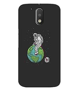 Designer 3D Printed Hard Back Case Grip Cover for Motorola Moto G4 Plus 4th Generation