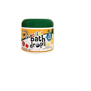 Play Visions Crayola Bath Dropz 3.59 oz 60 Tablets