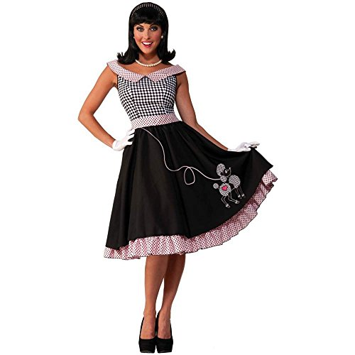 50s Checkered Cutie Adult Costume