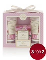 Floral Collection Rose Hand Treats