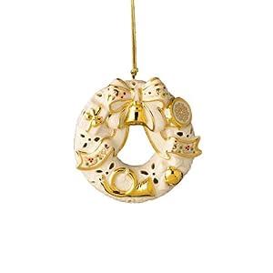 Lenox Bejeweled Christmas Wreath, Christmas Ornament