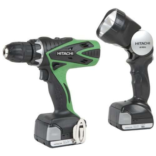 Find Cheap Hitachi DS14DSFL 14.4-Volts Lithium-Ion 1.5 Amp Cordless Drill Driver