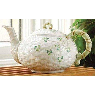 Large Shamrock Teapot