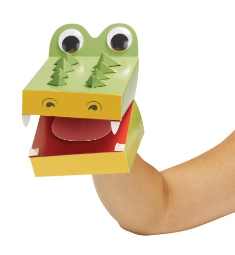 "Manhattan Toy ""Imagine I Can..."" Create-a-Puppet Kit, Alligator"