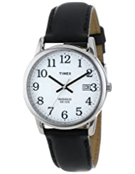 Timex T2H281 Reader Black Leather